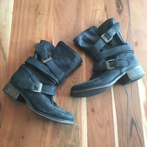 Steve Madden Brewzzer slouch motorcycle boots